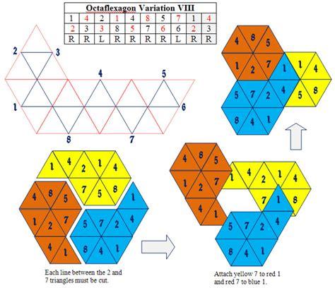 Origami Flexagon - index of flexagons maps