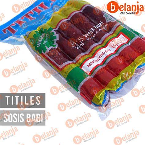 sosis babi titiles 500 gr lapchiong shopee indonesia