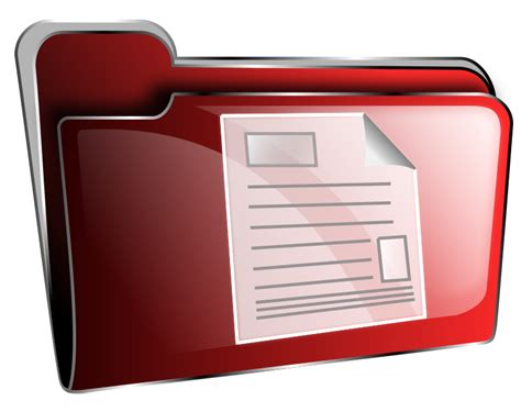 documents clipart clipart folder icon document