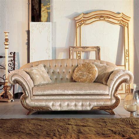 luxury classic sofa luxury classic sofa frame with gold leaf finish idfdesign