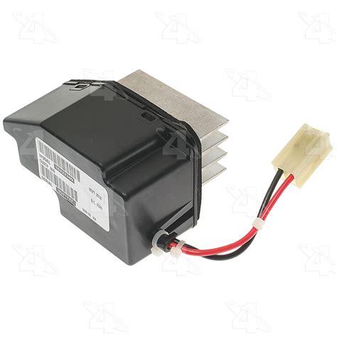 ford explorer sport trac blower motor resistor four seasons 20344 hvac blower motor resistor autoplicity