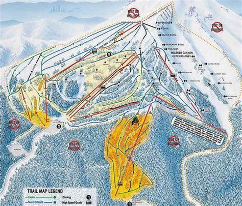 map of oregon ski resorts mt