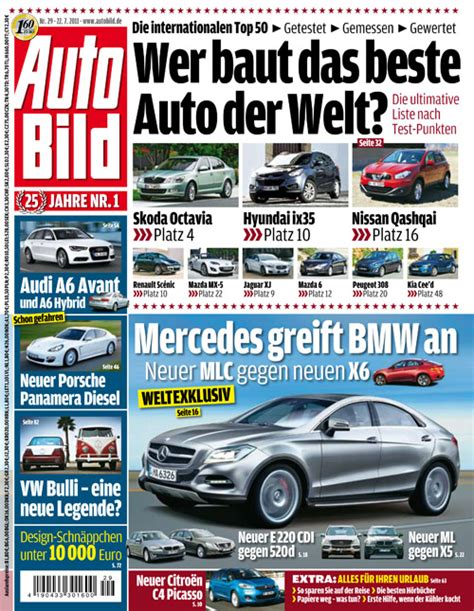 Autobild Cover by Click Here To Read More On Autobild On Line