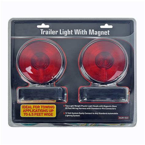 Trailer Lights Kit by Trailer Hitch Tow Magnetic 12v Trailer Light Towing Hauling Kit