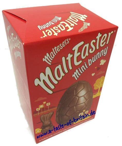 Minis Chocolate 80g maltesers malteaster mini bunny egg a taste of britain