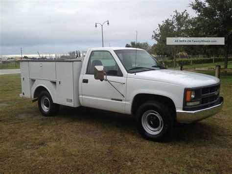 2000 chevrolet 3500 2500 utility truck