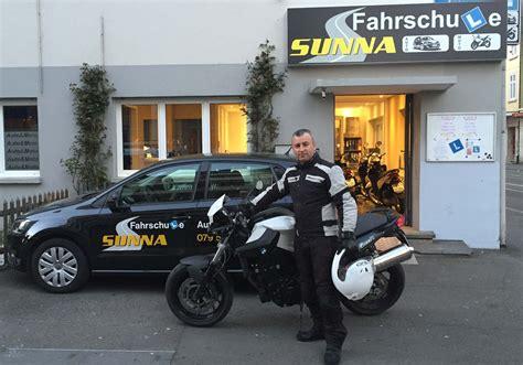 Motorrad Fahrschule Ausr Stung by Home Fahrschule Sunna Ch