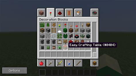craft mod easycrafting processing minecraft mods curse