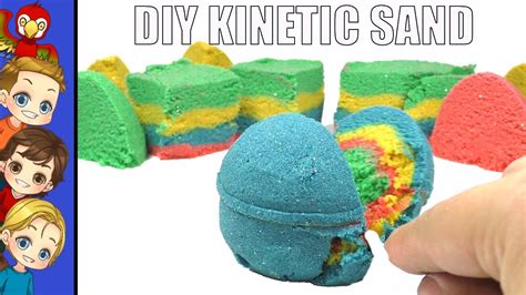 colored kinetic sand diy kinetic sand colored sensory toys for