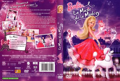 film barbie la magie de la mode jaquette dvd de barbie la magie de la mode cin 233 ma passion