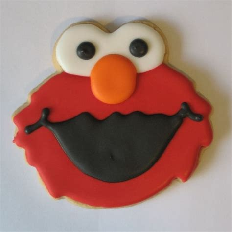 17 best ideas about elmo cookies on pinterest sesame
