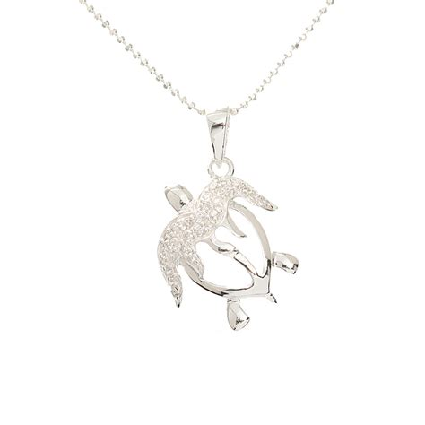 Sterling Silver Turtle Honu Ring sterling silver honu hawaiian turtle necklace chain