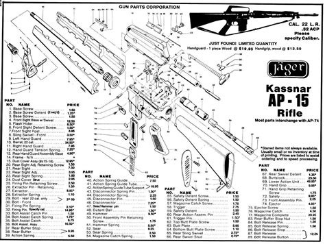 ar 15 parts diagram ar 15 parts list pictures to pin on pinsdaddy