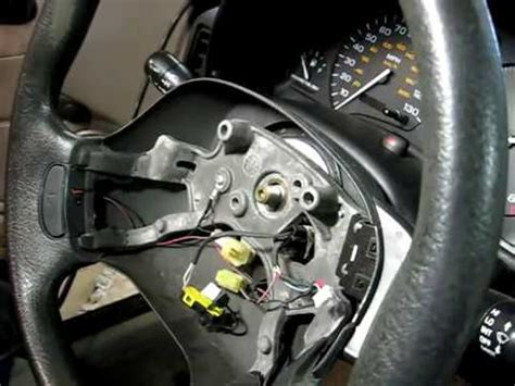 steering wheel removal youtube