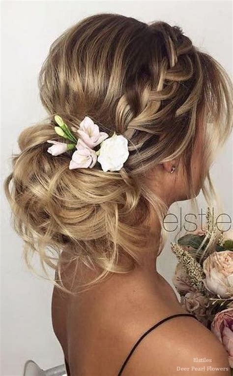 long hairstyles for bridal party top 25 best wedding hairstyles ideas on pinterest