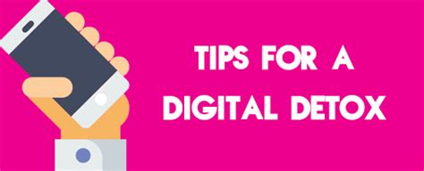 For A Digital Detox by Tips For A New Year Social Media And Digital Detox