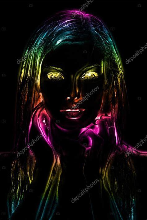 imagenes abstractas neon image abstraite art num 233 rique n 233 on lumi 232 re du visage d une