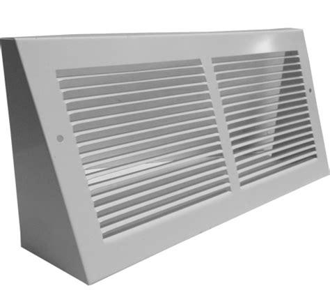 baseboard return grille metal vent