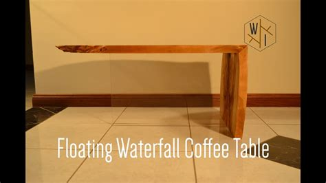 floating coffee table floating waterfall coffee table