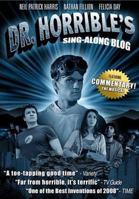 dr horribles sing along blog dr horrible s sing along blog 2008 movie poster 1