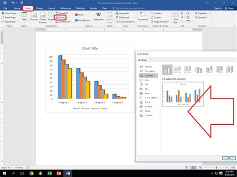 powerpoint tutorial exles how to insert chart in ms excel powerpoint word easy