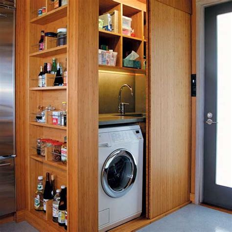 kitchen storage solutions 25 ideas to hide a laundry room amazing diy interior