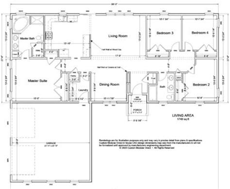 garage floor plans modular home modular home garage floor plans