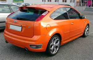 Ford Focus St Wiki File Ford Focus St Rear 20071112 Jpg