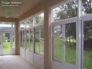 Windows For Sunrooms Sorrento Sunroom Addition Acrylic Windows Prager Builders
