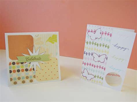 Handmade Simple Cards - simple handmade cards craving some creativity