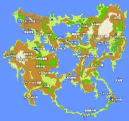 Ff2 World Map by Ff5 World Map Related Keywords Amp Suggestions Ff5 World
