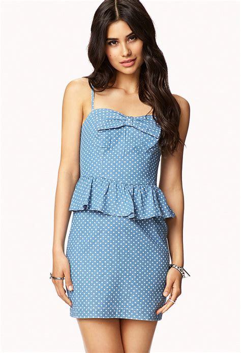 light blue dress forever 21 light blue polka dot casual dress forever 21 polka dot