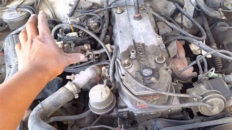 ajuste de motor despiece carburador toyota hilux transformado a la renegada de 22r a 22re youtube