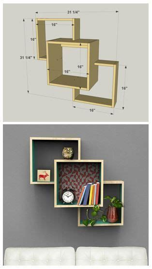 diy wall mounted display shelves find the free plans