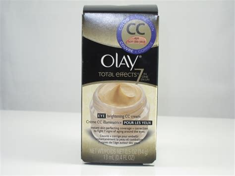Olay Total Effects Eye olay total effects eye brightening cc review