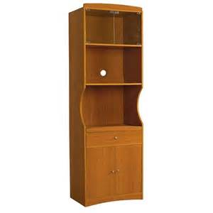 Microwave Furniture Cabinet Microwave Cabinet Wood Cherry Target
