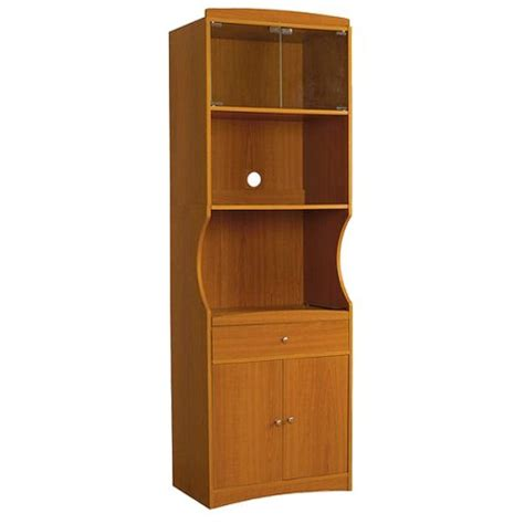 microwave cabinet wood cherry target