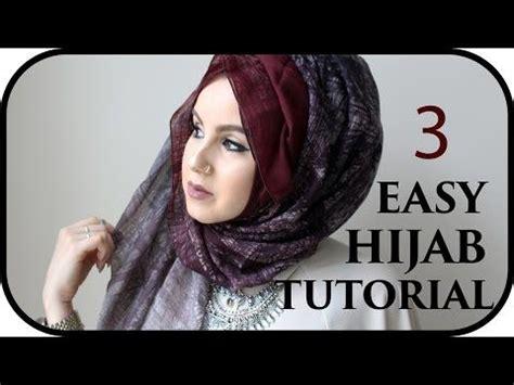 easy hijab styles  weddings  eid hijab tutorial