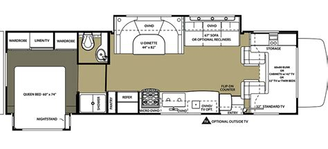 luxury rv floor plans luxury motorhome rental in oregon