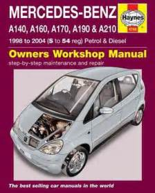 mercedes a class 1998 2004 haynes repair manual