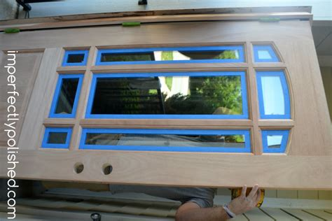 exterior wood door stain how to stain an unfinished exterior wood door