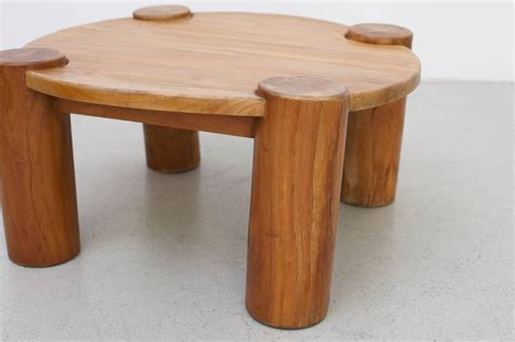 Heavy Solid Wood Coffee Table For Sale At 1stdibs Heavy Wood Coffee Table