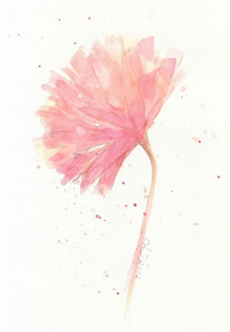 The Watercolour Flower Artist S Bible flower flower painting watercolor pink carnation