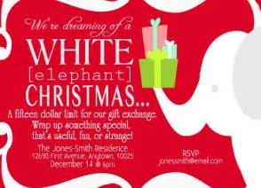 invitations white elephant at minted