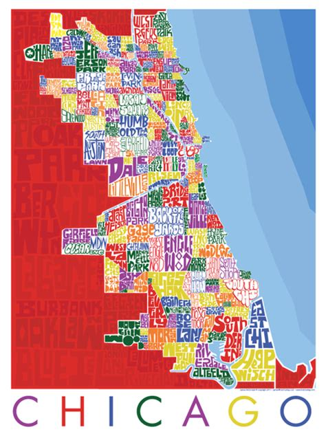 chicago map dogs chicago neighborhood type map i lost my