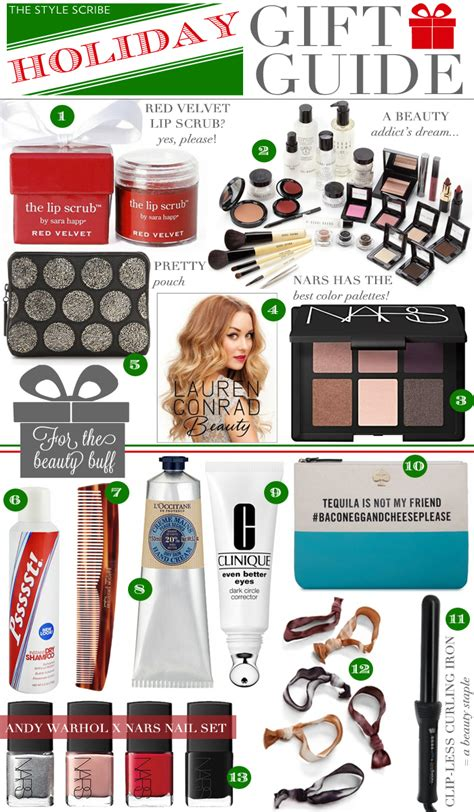 holiday gift guide for the beauty buff the style