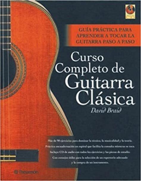 libro curso completo de guitarra cu 225 l es la mejor guitarra para aprender el regalo musical