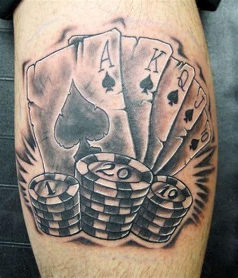 hand poke tattoo las vegas tatuajes de poker m 225 s que cuestionables