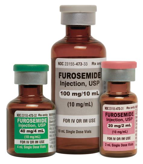 Fursosemide Inj product updates for pharmacists 1 10 2015 topics