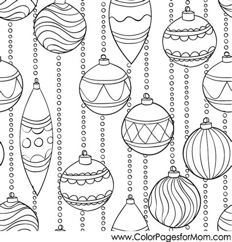 Christmas Ornament Coloring Pages For Adults Coloring Pages Ornaments Coloring Pages For Adults